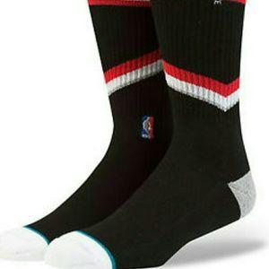 Stance men's Blazers crew socks large 8-12